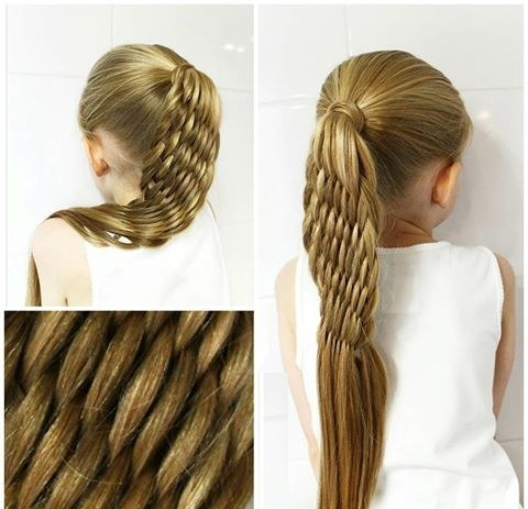 بافت موی دخترانه