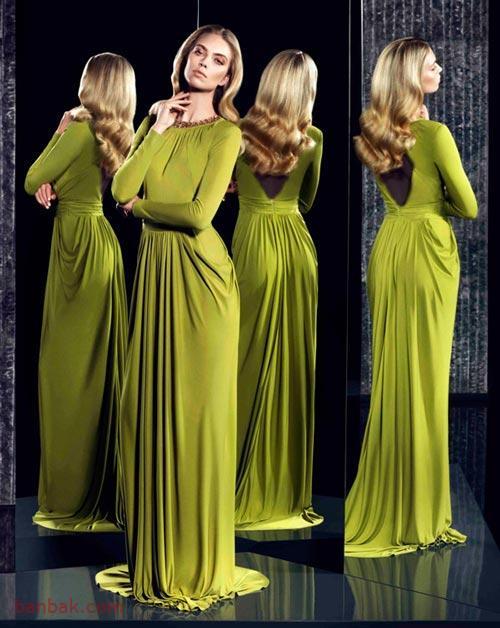 مدل لباس مجلسی بلند دخترانه 2019