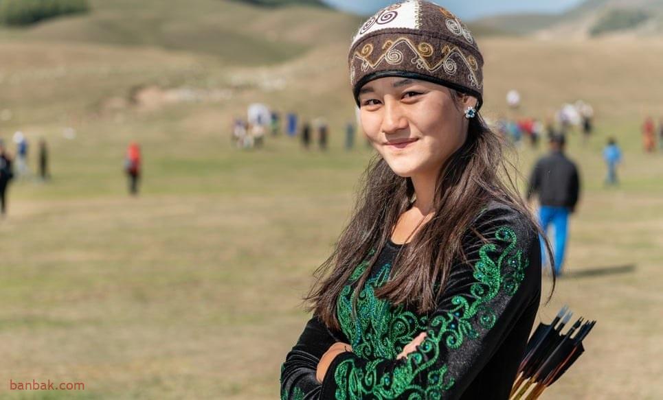 مسابقات زنان چادر نشین در قرقیزستان