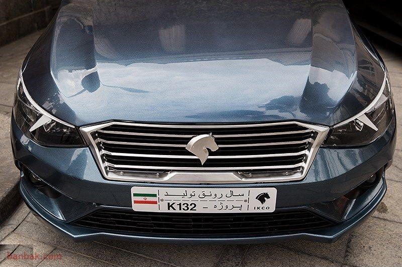 جدیدترین محصول قول خودرو سازی کشور رونمایی شد.