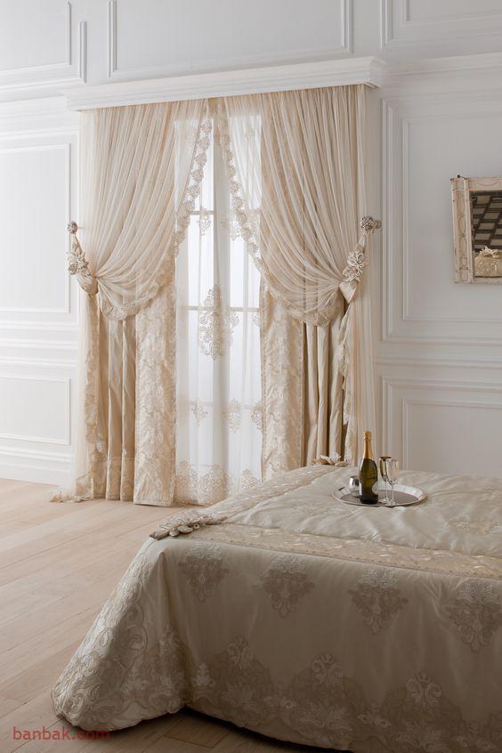 مدل پرده پذیرایی و اتاق خواب زیبا